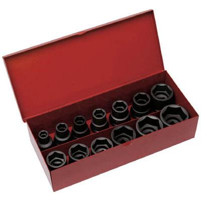 トラスコ インパクト用ソケット13個組セット 差込角12.7mm※取寄せ品 T4-13SET