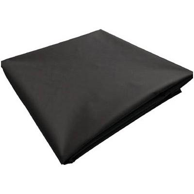 トラスコ ターポリンシート ブラック 1800×3600×0.35mm厚 ※取寄せ品 TPS1836-BK