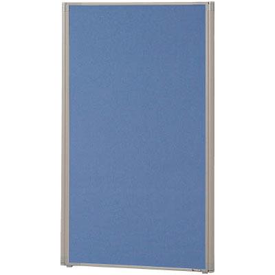 トラスコ ローパーティション 全面布張り W700×H1165 ブルー ※メーカー直送品 TLP-1207A-B