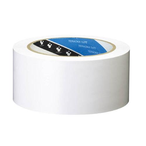 ラインテープ 50mm×20m 白 (1箱・36巻価格)メーカー直送品 寺岡 340