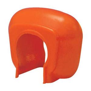 トラスコ 単管クランプカバー 100個入 オレンジ ※取寄せ品 TTCK-OR