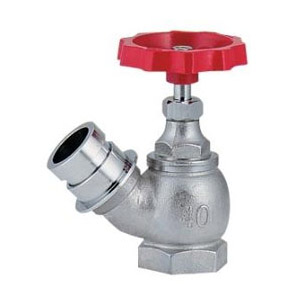 カクダイ 散水栓 45° 呼称50 652-710-50