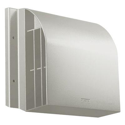 ナスタ 屋外フード(径150、アルミ、MLG、網無、D付)※メーカー直送品 8609AHD-MLG