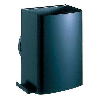 ナスタ 耐外風高性能フード ダンパー付 ブラック ※メーカー直送品 V15FSD-BK