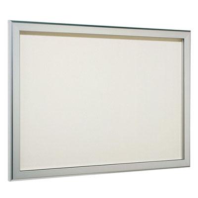 ナスタ カバー付アルミ掲示板(屋内用)ステンカラー 900×1200 ※受注生産品 ※メーカー直送品 TS-HB6912A