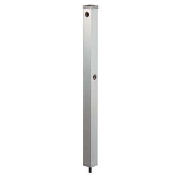 カクダイ ステンレス水栓柱(分水孔ツキ)60角 624-125