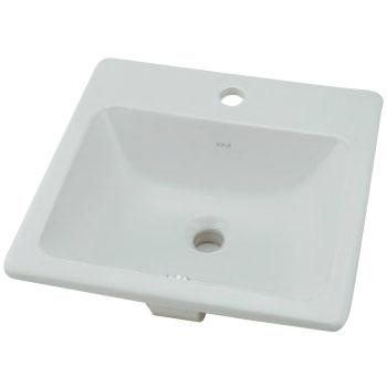 角型洗面器 容量4.5L カクダイ #VR-5463B0030001