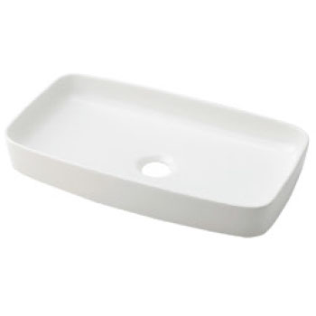 カクダイ 角型手洗器 シュガー 493-073-W