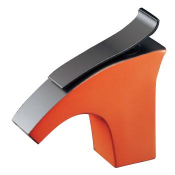 立水栓(オレンジ)取付穴径22~28ミリ カクダイ 716-244-13