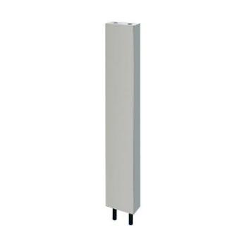 カクダイ 厨房用ステンレス水栓柱(立形水栓用) 13×1200ミリ ※メーカー直送代引不可 624-610S-120