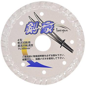 三京ダイヤモンド 剣豪(けんごう)203×2.1×8.0×25.4 RZ-K8
