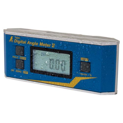 シンワ デジタルアングルメーター2 防塵防水 マグネット付 ※取寄品 76826