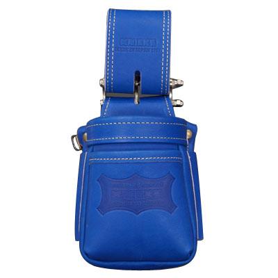 KNICKS(ニックス) 最高級硬式グローブ革チェーンタイプ小物腰袋 ブルー ※取寄品 KGBL-201VADX