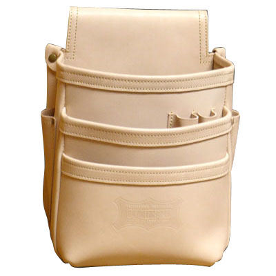 KNICKS(ニックス) 総ヌメ革使用3段腰袋 ※取寄品 KNS-301DD