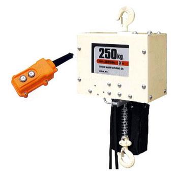 H.H.H.(スリーエッチ) 電気チェーンブロック JC250×6m ※メーカー直送品