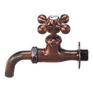 カラー万能ホーム水栓(凍結防止つき) 701-529-13 カクダイ 701-529-13