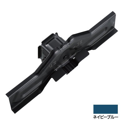 白幡 ニューフジ三晃式 300mm ステン304・ネイビーブルー(1箱・30個価格) ※取寄品 H-1