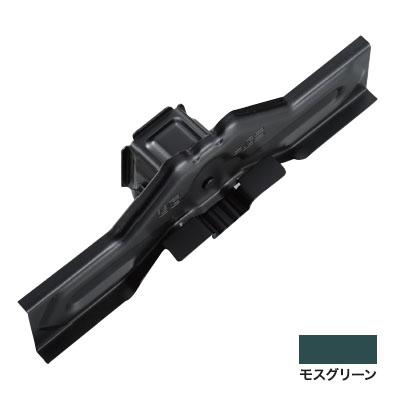 白幡 ニューフジ三晃式 耳巻 300mm 亜鉛・モスグリーン(1箱・30個価格) ※取寄品 H-1M