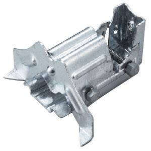 白幡 ストップフジ三晃式 K-1(2本ボルト)115mm 鉄・ドブメッキ(1箱・60個価格) ※取寄品 H-10