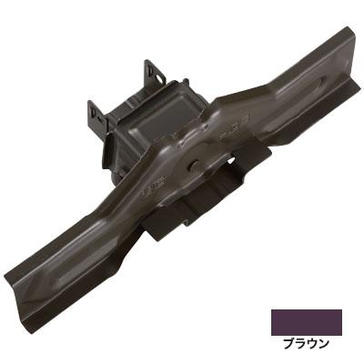 白幡 ニューフジ林式 54mm 300mm 亜鉛・ブラウン(1箱・30個価格) ※取寄品 H-6