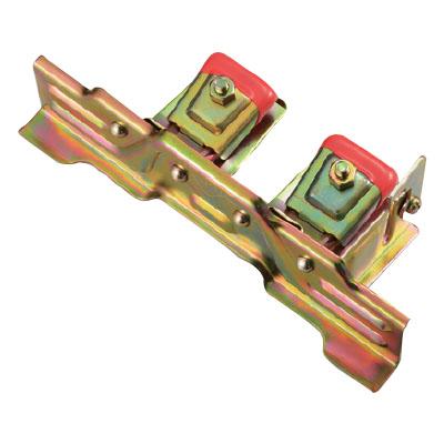 白幡 スノーストップAT-W アングル止付 250mm 鉄・ドブメッキ(1箱・40個価格) ※取寄品 Y-30