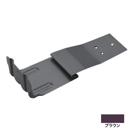 白幡 扇型平葺S足 A型 リブ付 ステン304・ブラウン(1箱・100個価格) ※取寄品 Y-23