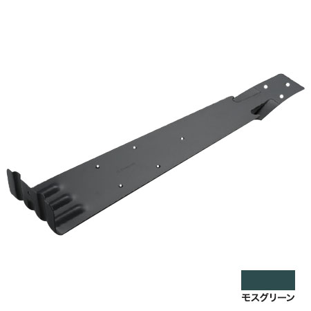 白幡 扇型コロニアル 後付 360mm ステン430・モスグリーン(1箱・100個価格) ※取寄品 SK-2