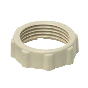未来工業 カラーロックナット ベージュ 22用(G3/4)(1箱・500個価格) ※取寄品 CLN-J