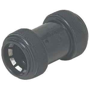 カップリング PF管MF-42用 黒(1箱・20個価格) ※取寄品 未来工業 FPC-42YK