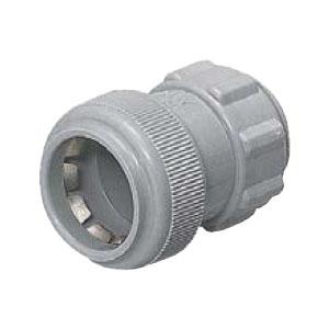 未来工業 コネクタ PF管22用 グレー(1箱・100個価格) ※取寄品 FPK-22YH