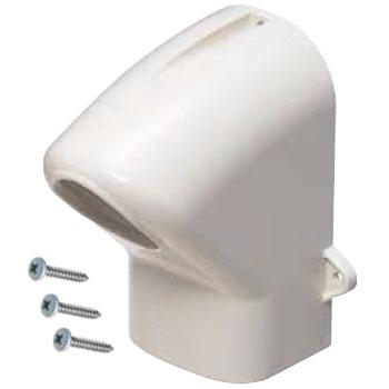 エントランスカバー ミルキーホワイト(1箱・20個価格) ※取寄品 未来工業 MDEC-50M