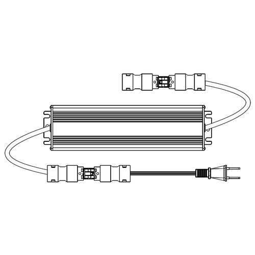 スイッチング電源(コネクタ付) 呼び名90 受注生産品 LU-SWC-CNS-90 ロイヤル LU-SWC-CNS-90