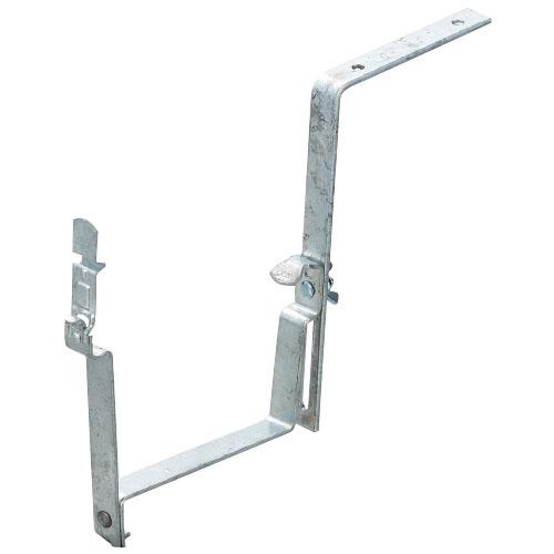 白幡 連 ルーフ兼用自在スレート上打 電気化学用(樋M120・1寸・亜鉛メッキ) (1箱・50個) OT-14