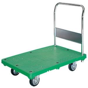 シシク 運搬台車 (プラスチック製、ハンドル固定) MB-SMG