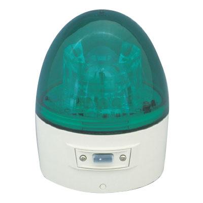 日動 ニコカプセル 電池式LED回転灯 常時点灯 緑 VL11B-003AG