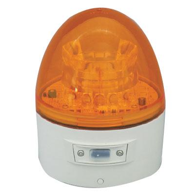 日動 ニコカプセル 電池式LED回転灯 夜間自動点灯 黄 VL11B-003BY