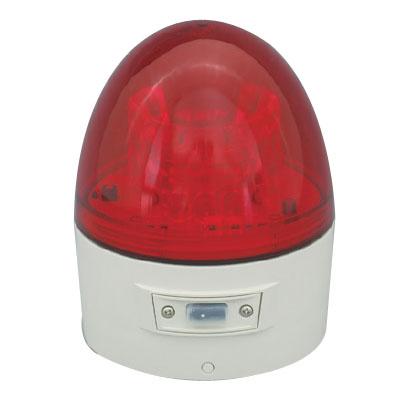 日動 ニコカプセル 電池式LED回転灯 夜間自動点灯 赤 VL11B-003BR