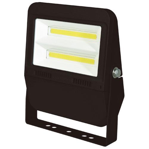 日動 常設用LEDフラットライト50W 黒(昼白色) LJS-F50D-BK-50K