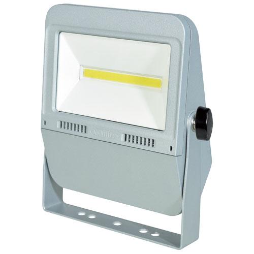 日動 作業用LEDフラットライト30W シルバー(昼白色) LEN-F30D-SL-50K