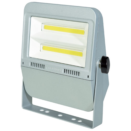日動 作業用LEDフラットライト50W シルバー(昼白色) LEN-F50D-SL-50K