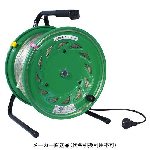 日動 防雨型 LEDラインチューブドラム50m 緑 ※受注生産品 RLL-50S-G