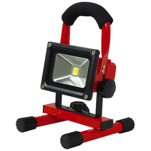 日動 充電式LEDチャージライトミニ(本体色:赤) BAT-5W-L1PS-R