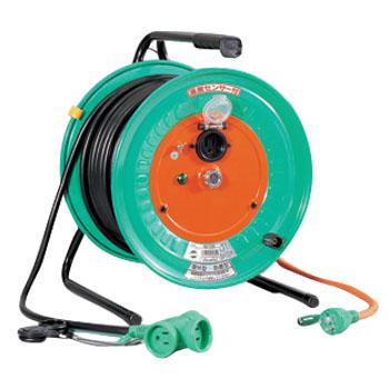 日動 防雨防塵型延長コード型ドラム 温度センサー 50m RBW-E50S