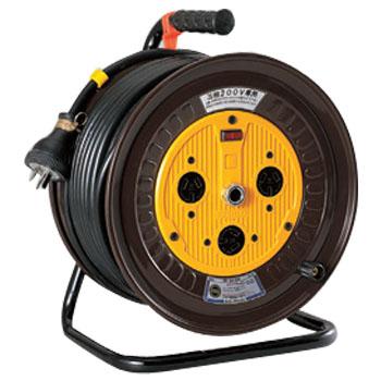 日動 三相200V一般型ドラム(屋内型)アース付 50m NDN-E350-20A