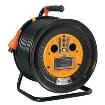 日動 三相200V一般型ドラム(屋内型)アース付 50m NDN-EB350-20A