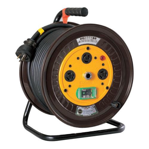 日動 単200Vロック引掛式ドラム(屋内型)アース付 30m ND-EK230L-20A