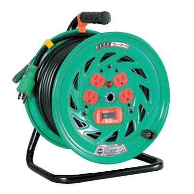 日動 超高感度ブレーカ付標準型電工ドラム(屋内型) NFH-EK34