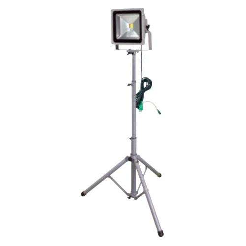 日動 LED作業灯 50W 三脚1灯式 LPR-S50L-3ME