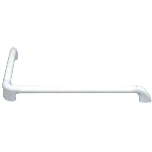 L型(曲がり)浴室手すり 600×600mm ホワイト ※取寄せ品 シクロケア 4022