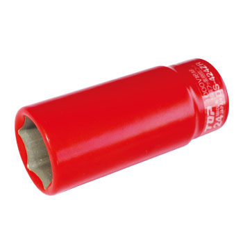 TOP 絶縁ディープソケット 19mm 12.7mm角 ※取寄品 DS-419ZR